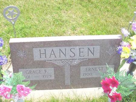 HANSEN, GRACE F. - Pottawattamie County, Iowa | GRACE F. HANSEN