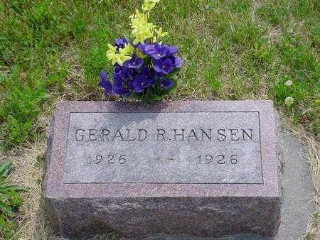 HANSEN, GERALD R. - Pottawattamie County, Iowa | GERALD R. HANSEN