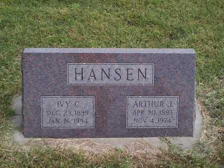 HANSEN, IVY C. - Pottawattamie County, Iowa | IVY C. HANSEN
