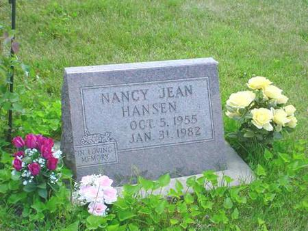 HANSEN, NANCY JEAN - Pottawattamie County, Iowa | NANCY JEAN HANSEN