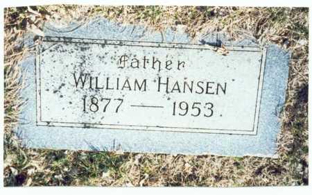 HANSEN, WILLIAM - Pottawattamie County, Iowa | WILLIAM HANSEN