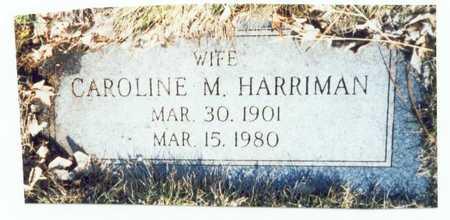 SELLARS HARRIMAN, CAROLINE M. - Pottawattamie County, Iowa | CAROLINE M. SELLARS HARRIMAN