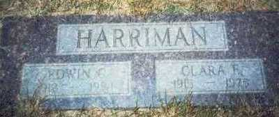 HARRIMAN, EDWIN C. - Pottawattamie County, Iowa | EDWIN C. HARRIMAN