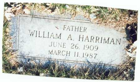 HARRIMAN, WILLIAM A. - Pottawattamie County, Iowa | WILLIAM A. HARRIMAN