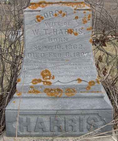 HARRIS, GEORGIA A - Pottawattamie County, Iowa | GEORGIA A HARRIS