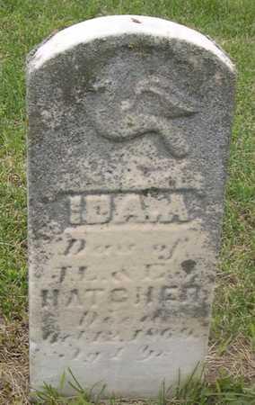 HATCHER, IDA A. - Pottawattamie County, Iowa | IDA A. HATCHER
