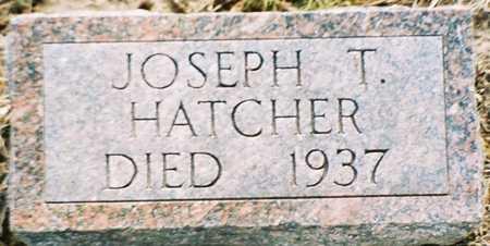 HATCHER, JOSEPH T. - Pottawattamie County, Iowa | JOSEPH T. HATCHER