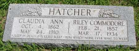 HATCHER, RILEY COMMODORE - Pottawattamie County, Iowa | RILEY COMMODORE HATCHER
