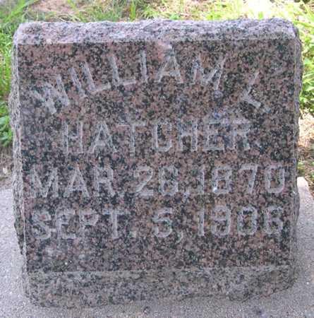 HATCHER, WILLIAM L. - Pottawattamie County, Iowa | WILLIAM L. HATCHER