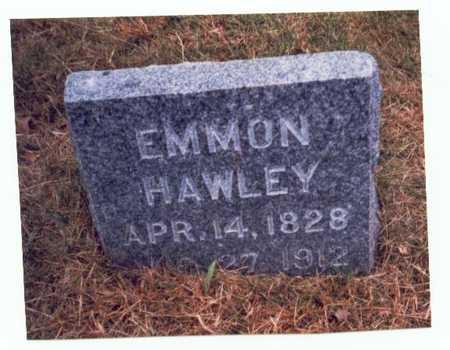 HAWLEY, EMMON - Pottawattamie County, Iowa   EMMON HAWLEY
