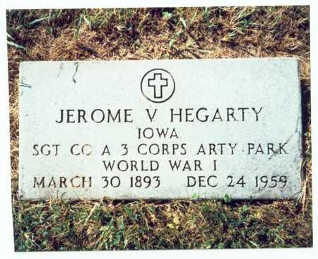 HEGARTY, JEROME V. - Pottawattamie County, Iowa   JEROME V. HEGARTY