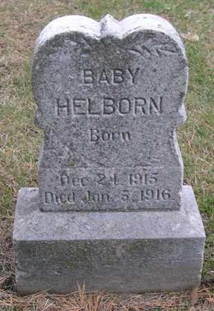 HELBORN, INFANT - Pottawattamie County, Iowa | INFANT HELBORN