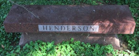 HENDERSON, FAMILY BENCH - Pottawattamie County, Iowa | FAMILY BENCH HENDERSON