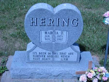 HERING, MARCIA D. - Pottawattamie County, Iowa   MARCIA D. HERING