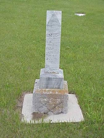 HERINGTON, M. E. - Pottawattamie County, Iowa | M. E. HERINGTON