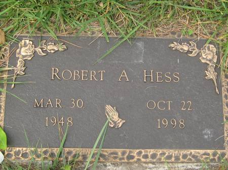 HESS, ROBERT A. - Pottawattamie County, Iowa | ROBERT A. HESS