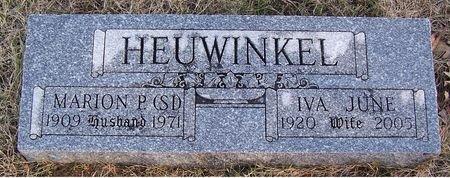 HEUWINKEL, IVA JUNE - Pottawattamie County, Iowa | IVA JUNE HEUWINKEL