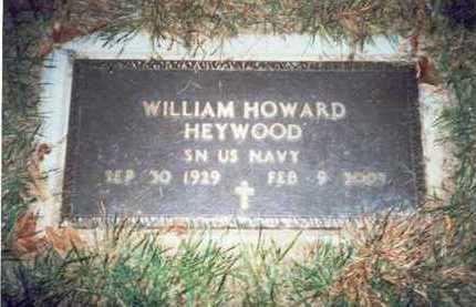 HEYWOOD, WILLIAM HOWARD - Pottawattamie County, Iowa   WILLIAM HOWARD HEYWOOD