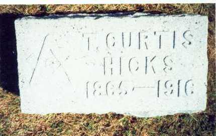 HICKS, T. CURTIS - Pottawattamie County, Iowa | T. CURTIS HICKS