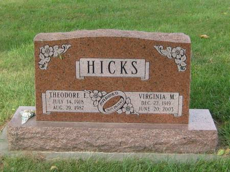 HICKS, VIRGINIA M - Pottawattamie County, Iowa | VIRGINIA M HICKS