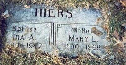 HIERS, MARY L. - Pottawattamie County, Iowa | MARY L. HIERS