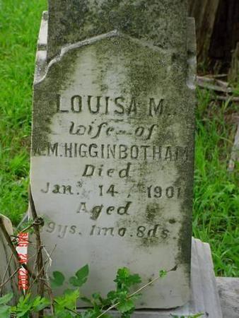 HIGGENBOTHAM, LOUISA M. - Pottawattamie County, Iowa | LOUISA M. HIGGENBOTHAM