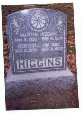 HIGGINS, MARTIN - Pottawattamie County, Iowa   MARTIN HIGGINS