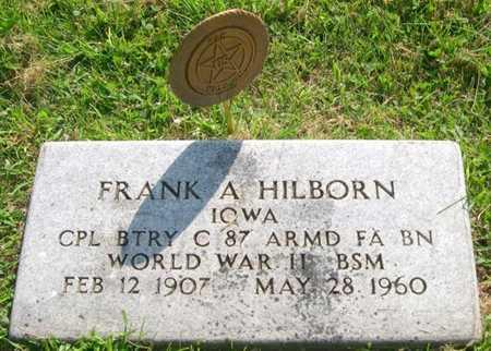 HILBORN, FRANK A. - Pottawattamie County, Iowa | FRANK A. HILBORN