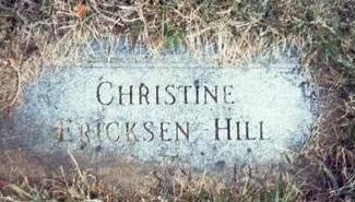 HILL, CHRISTINE - Pottawattamie County, Iowa | CHRISTINE HILL