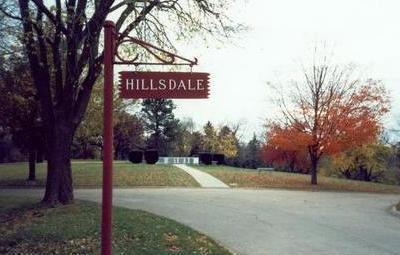 HILLSDALE, SIGN - Pottawattamie County, Iowa | SIGN HILLSDALE