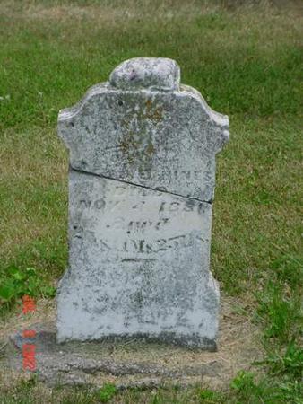 HINES, MARY A. - Pottawattamie County, Iowa | MARY A. HINES