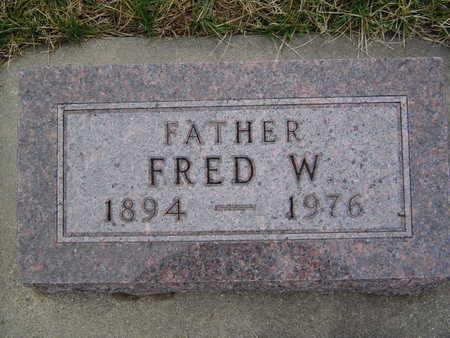 HINZ, FRED - Pottawattamie County, Iowa | FRED HINZ