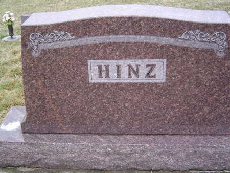 HINZ, FAMILY STONE - Pottawattamie County, Iowa | FAMILY STONE HINZ