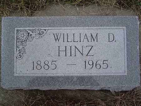 HINZ, WILLIAM - Pottawattamie County, Iowa | WILLIAM HINZ