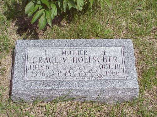 HOELSCHER, GRACE V. - Pottawattamie County, Iowa | GRACE V. HOELSCHER