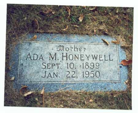 HONEYWELL, ADA M. - Pottawattamie County, Iowa | ADA M. HONEYWELL