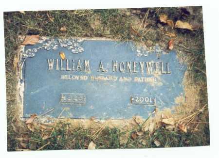HONEYWELL, WILLIAM A. - Pottawattamie County, Iowa   WILLIAM A. HONEYWELL