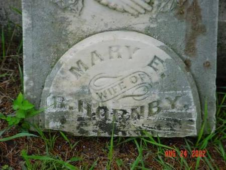 HORNBY, MARY E. [TOP] - Pottawattamie County, Iowa | MARY E. [TOP] HORNBY