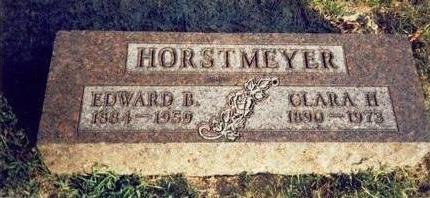 HORSTMEYER, EDWARD B - Pottawattamie County, Iowa | EDWARD B HORSTMEYER