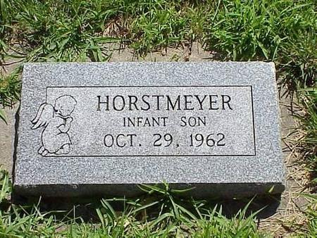 HORSTMEYER, INFANT SON - Pottawattamie County, Iowa | INFANT SON HORSTMEYER