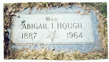 HOUGH, ABIGAIL I. - Pottawattamie County, Iowa   ABIGAIL I. HOUGH