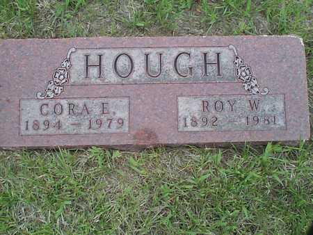 HOUGH, CORA E. - Pottawattamie County, Iowa | CORA E. HOUGH