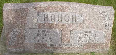 HOUGH, MYRON E. - Pottawattamie County, Iowa | MYRON E. HOUGH