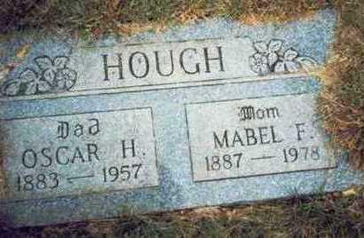 HOUGH, MABEL F. - Pottawattamie County, Iowa | MABEL F. HOUGH