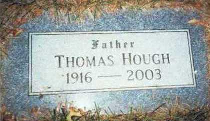 HOUGH, THOMAS - Pottawattamie County, Iowa   THOMAS HOUGH