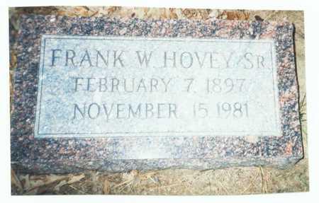HOVEY, FRANK WASHINGTON SR. - Pottawattamie County, Iowa | FRANK WASHINGTON SR. HOVEY