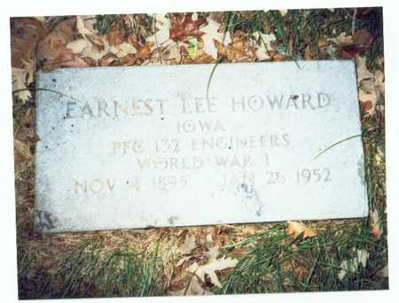 HOWARD, ERNEST LEE - Pottawattamie County, Iowa | ERNEST LEE HOWARD