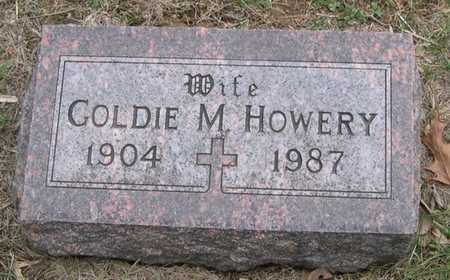 HOWERY, GOLDIE M. - Pottawattamie County, Iowa | GOLDIE M. HOWERY