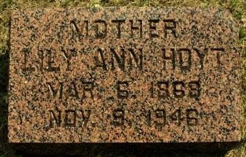 HOYT, LILY ANN - Pottawattamie County, Iowa | LILY ANN HOYT