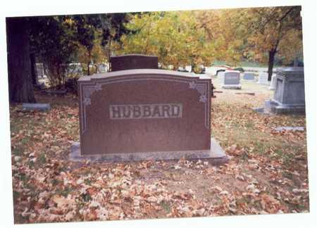 HUBBARD, FAMILY MARKER - Pottawattamie County, Iowa | FAMILY MARKER HUBBARD